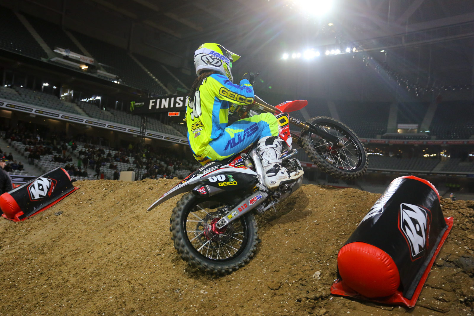 Malcolm Stewart - Vital MX Pit Bits: Paris-Lille Supercross - Motocross Pictures - Vital MX