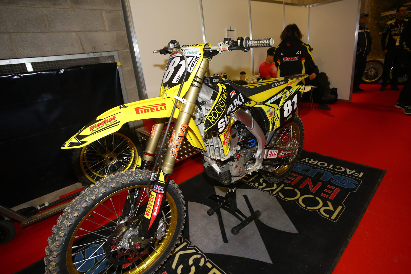 Brian Hsu - Vital MX Pit Bits: Paris-Lille Supercross - Motocross Pictures - Vital MX