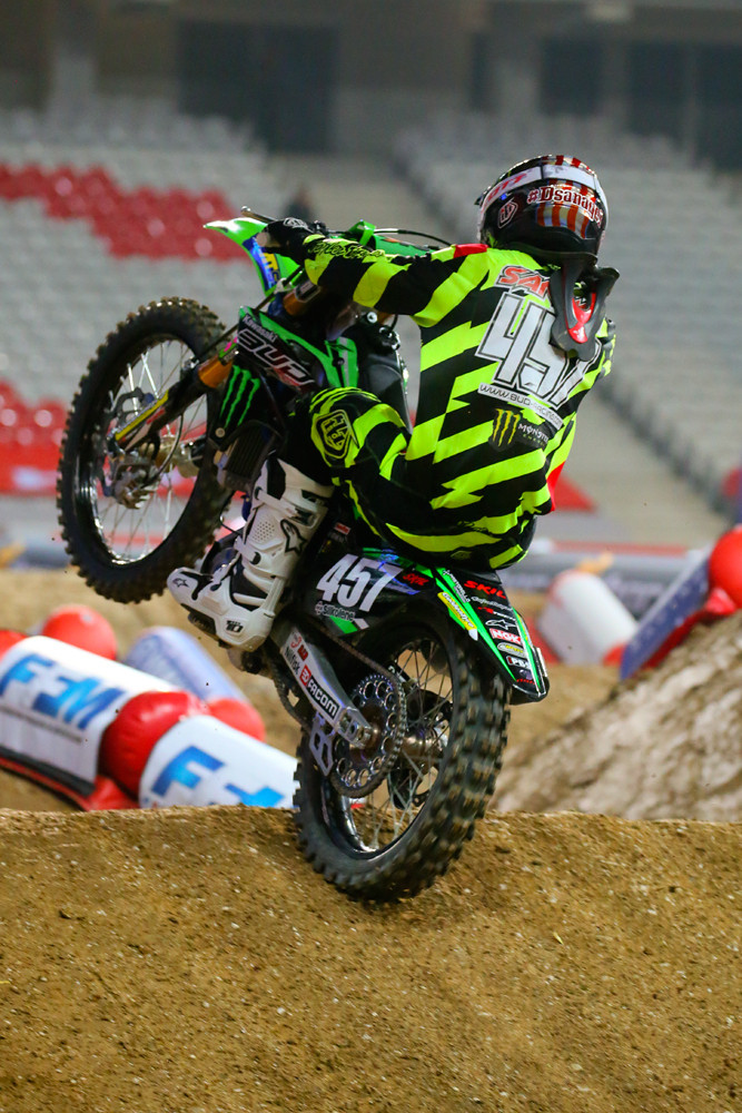 Darian Sanayei - Vital MX Pit Bits: Paris-Lille Supercross - Motocross Pictures - Vital MX
