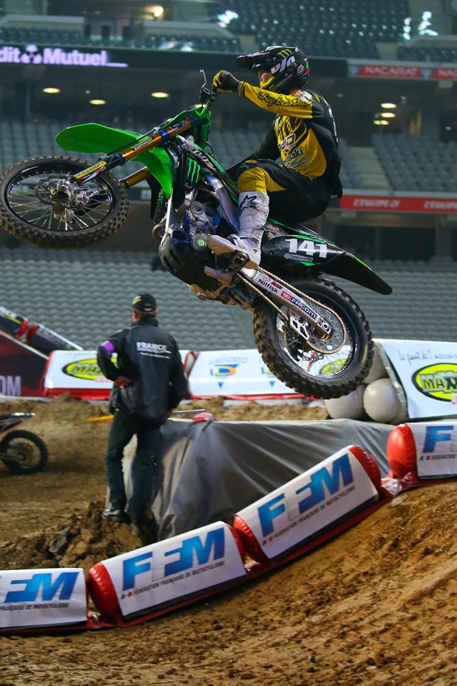 Maxime Desprey - Vital MX Pit Bits: Paris-Lille Supercross - Motocross Pictures - Vital MX