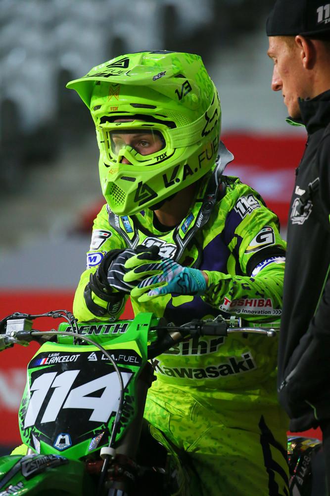 Livia Lancelot - Vital MX Pit Bits: Paris-Lille Supercross - Motocross Pictures - Vital MX