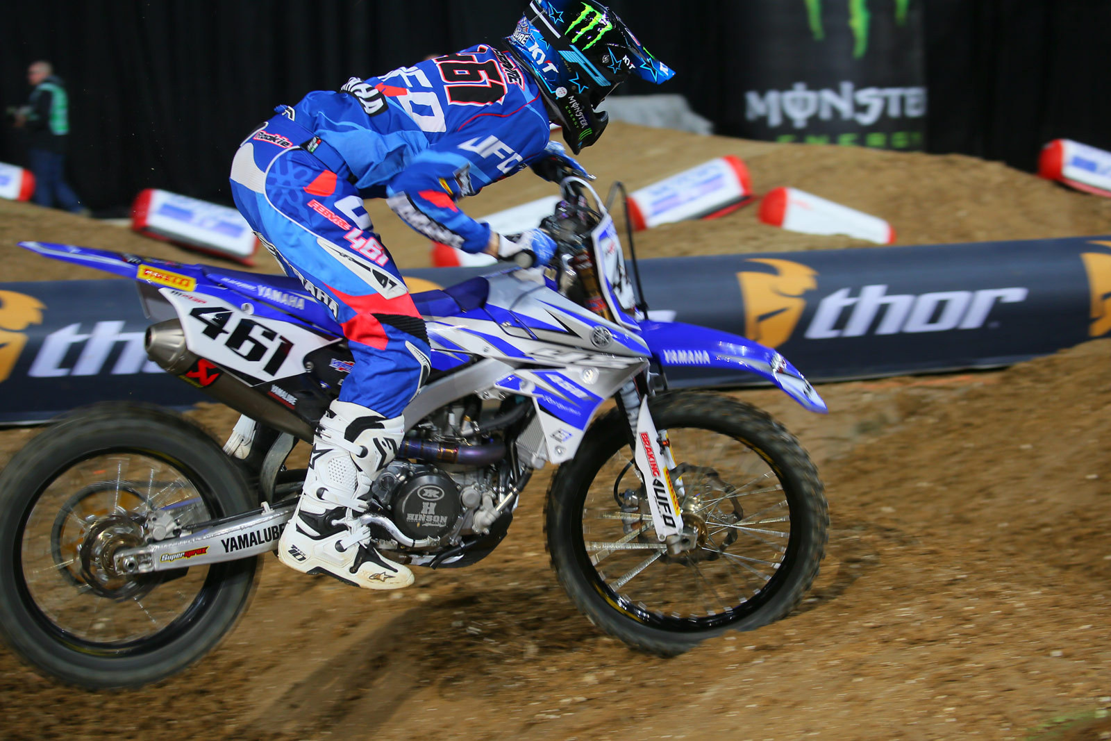 Romain Febvre - Vital MX Pit Bits: Paris-Lille Supercross - Motocross Pictures - Vital MX