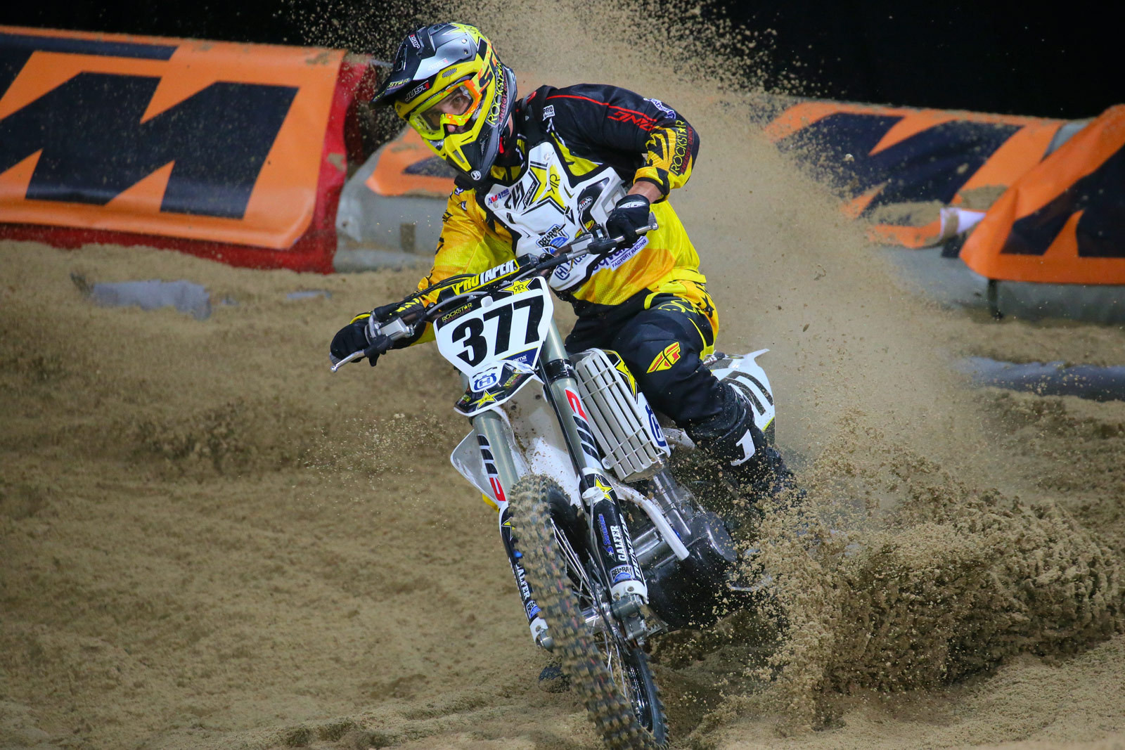 Christophe Pourcel - Vital MX Pit Bits: Paris-Lille Supercross - Motocross Pictures - Vital MX