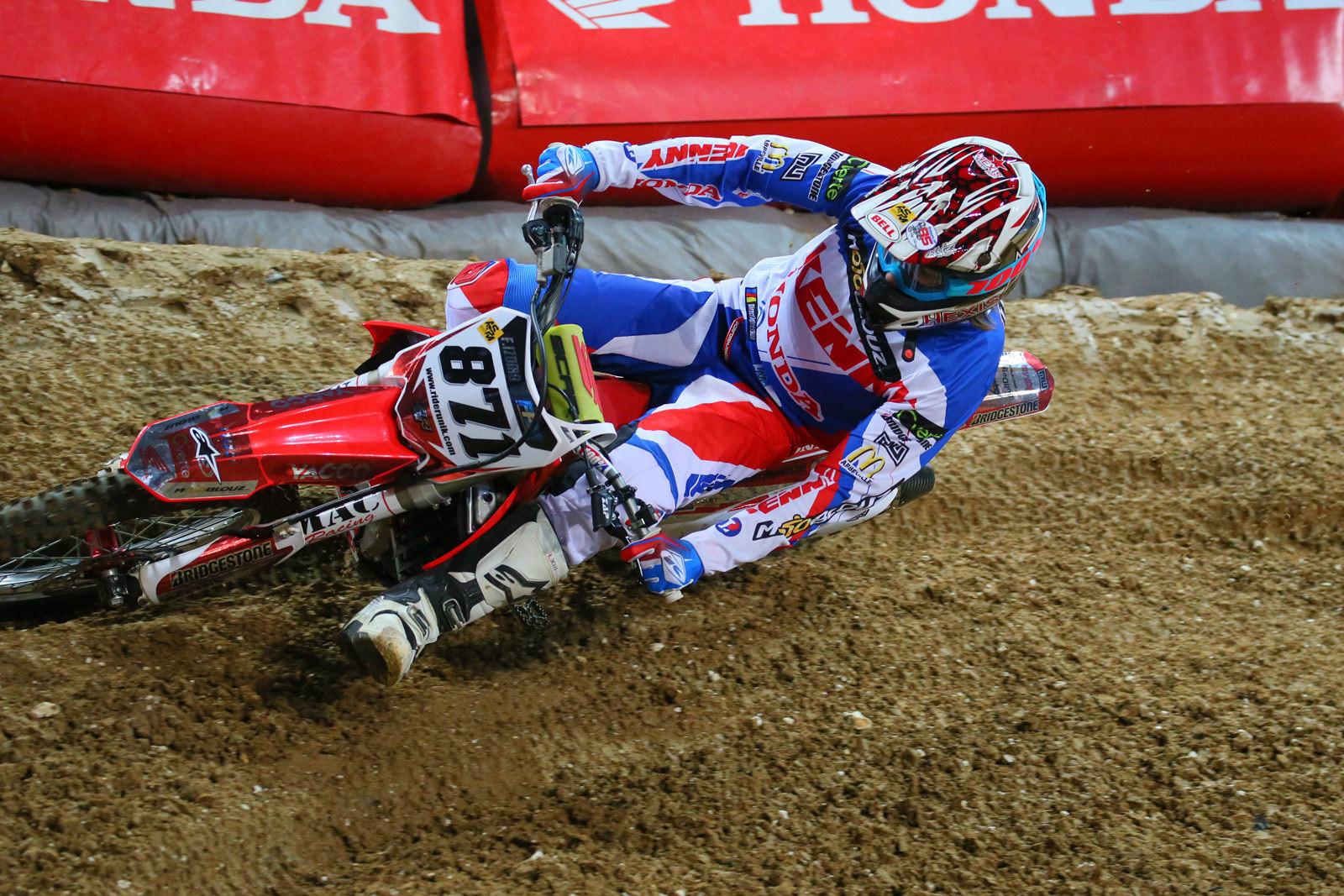 Fabien Izoird - Vital MX Pit Bits: Paris-Lille Supercross - Motocross Pictures - Vital MX