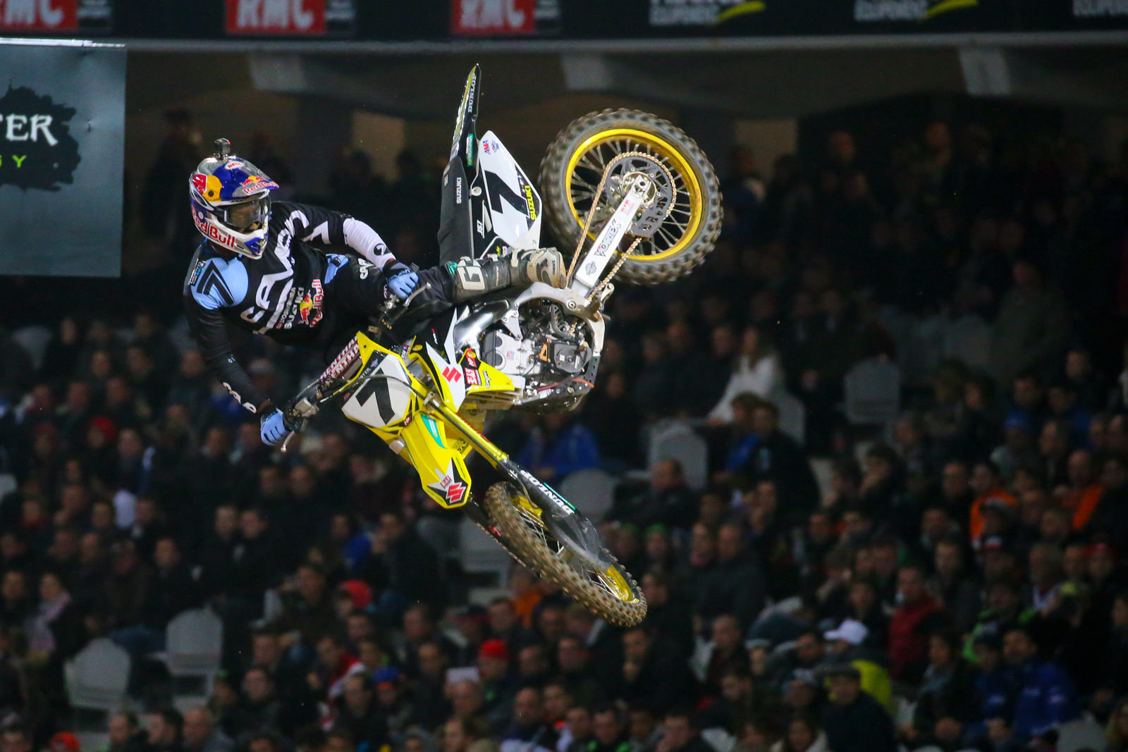 James Stewart - Vital MX Pit Bits: Paris-Lille Supercross - Motocross Pictures - Vital MX