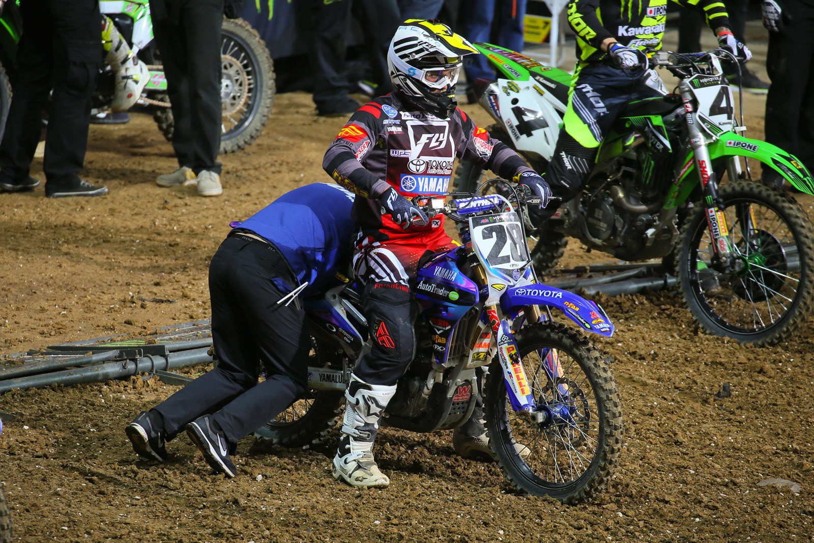 Rear link - Vital MX Pit Bits: Paris-Lille Supercross - Motocross Pictures - Vital MX
