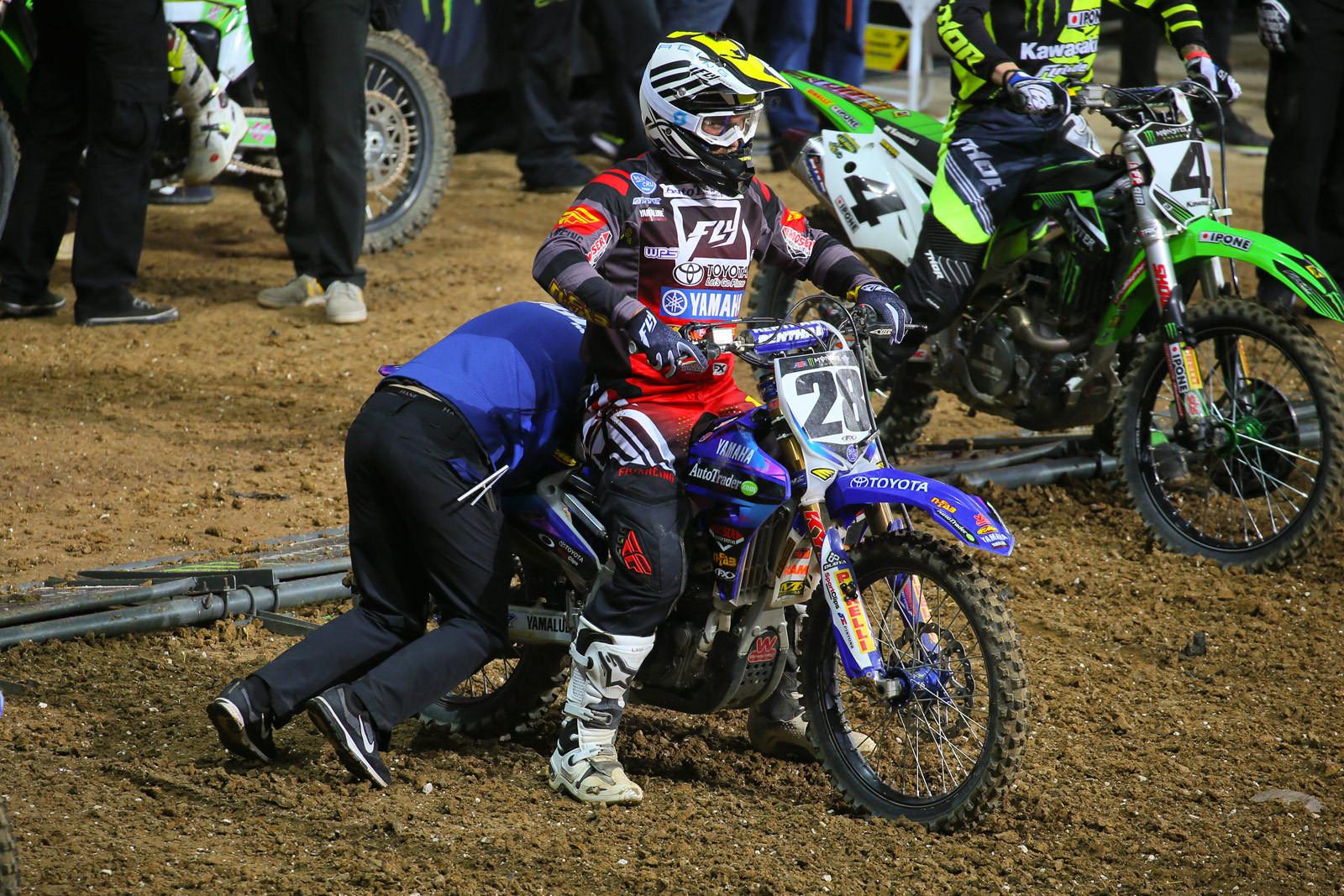 Rear link - Vital MX Pit Bits: Paris-Lille Supercross - Motocross Pictures - Vital MX