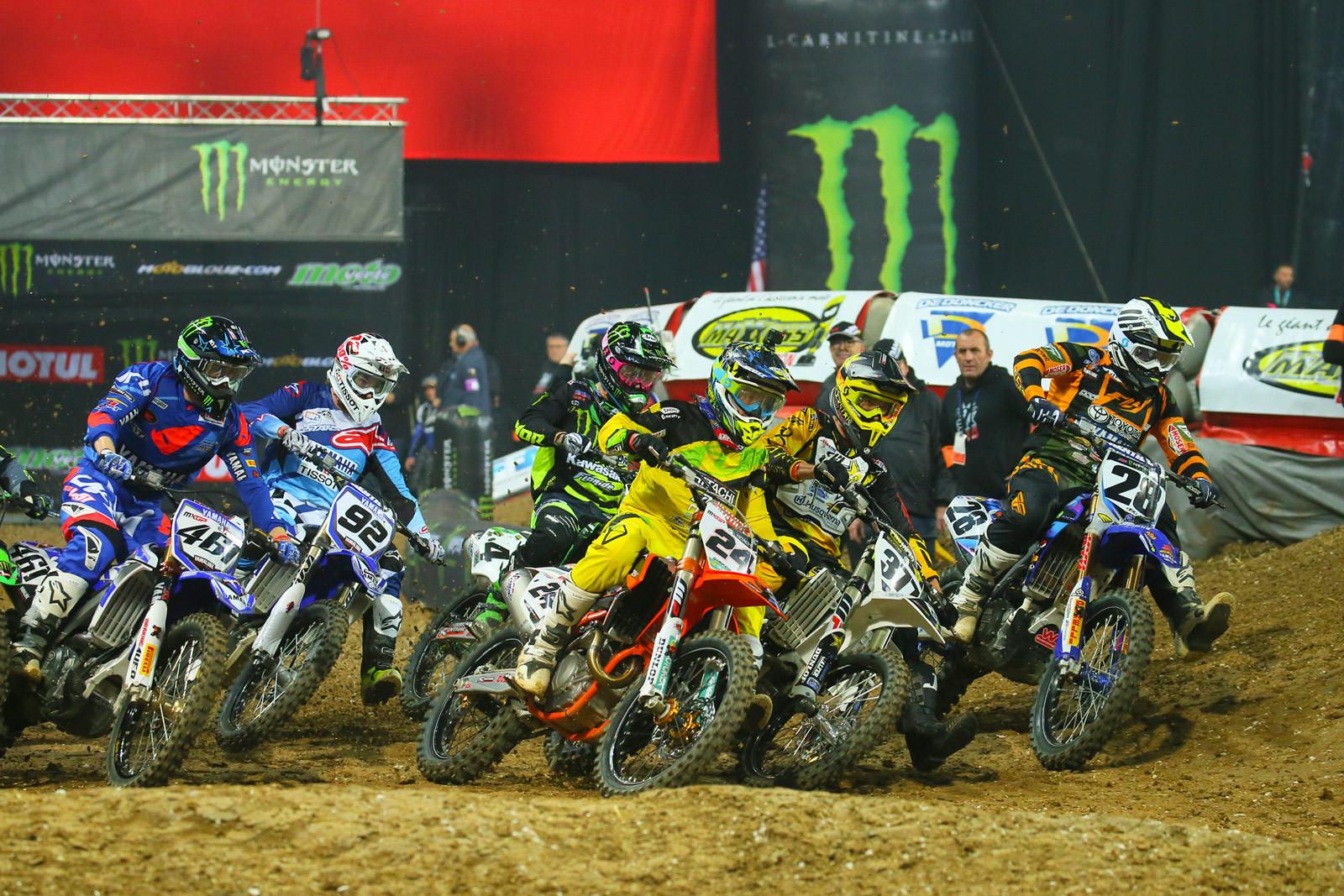 SX1 Heat Race One - Photo Blast: Paris-Lille Supercross - Motocross Pictures - Vital MX