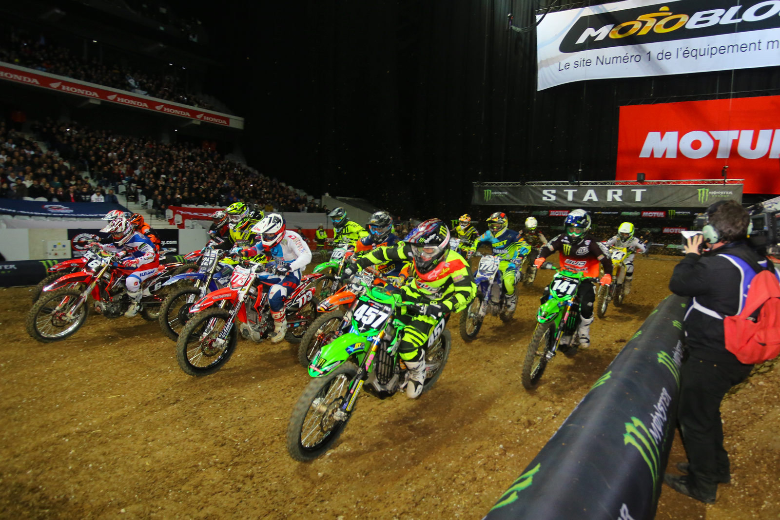 SX2 Main Event Two - Photo Blast: Paris-Lille Supercross - Motocross Pictures - Vital MX