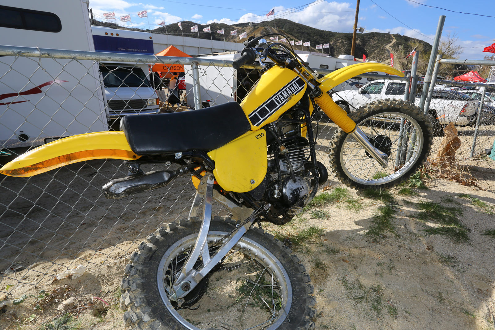 Vintage bikes - Friday and Saturday at Red Bull Day In The Dirt 18 - Motocross Pictures - Vital MX