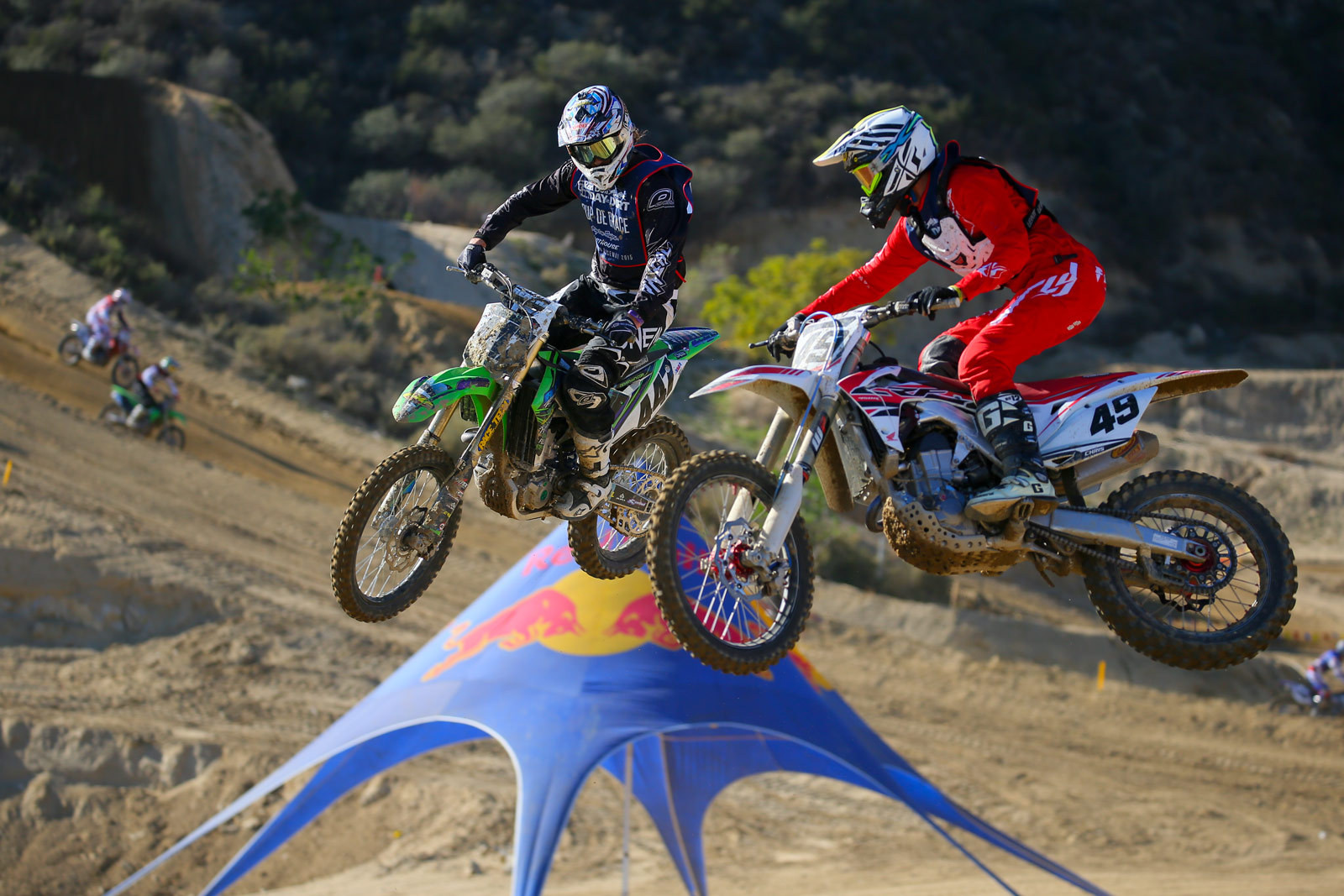 Deven Raper and Billy Lea - Sunday at Red Bull Day In The Dirt 18  - Motocross Pictures - Vital MX