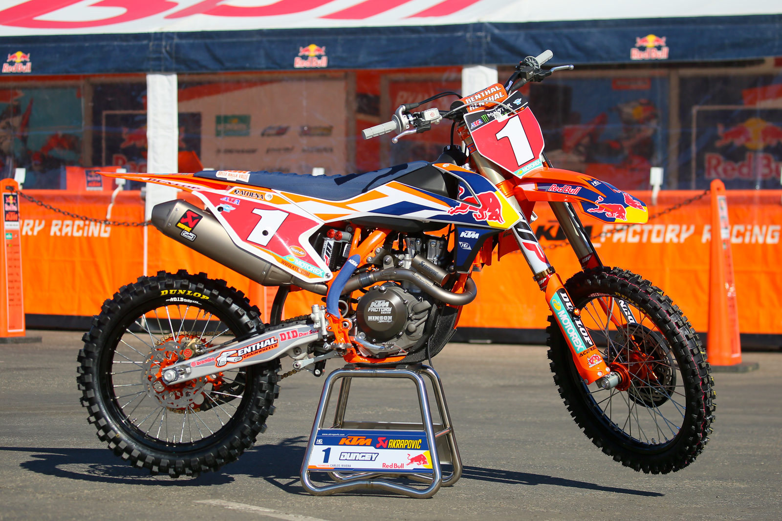 Ryan Dungey - 2016 Bikes of Supercross - Motocross Pictures - Vital MX