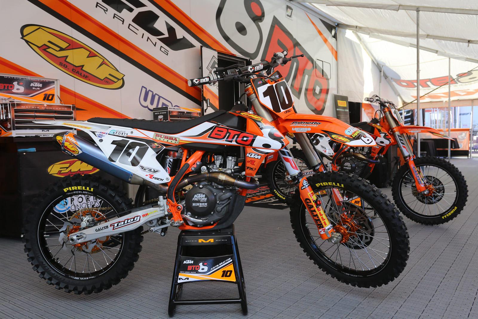 Justin Brayton - 2016 Bikes of Supercross - Motocross Pictures - Vital MX
