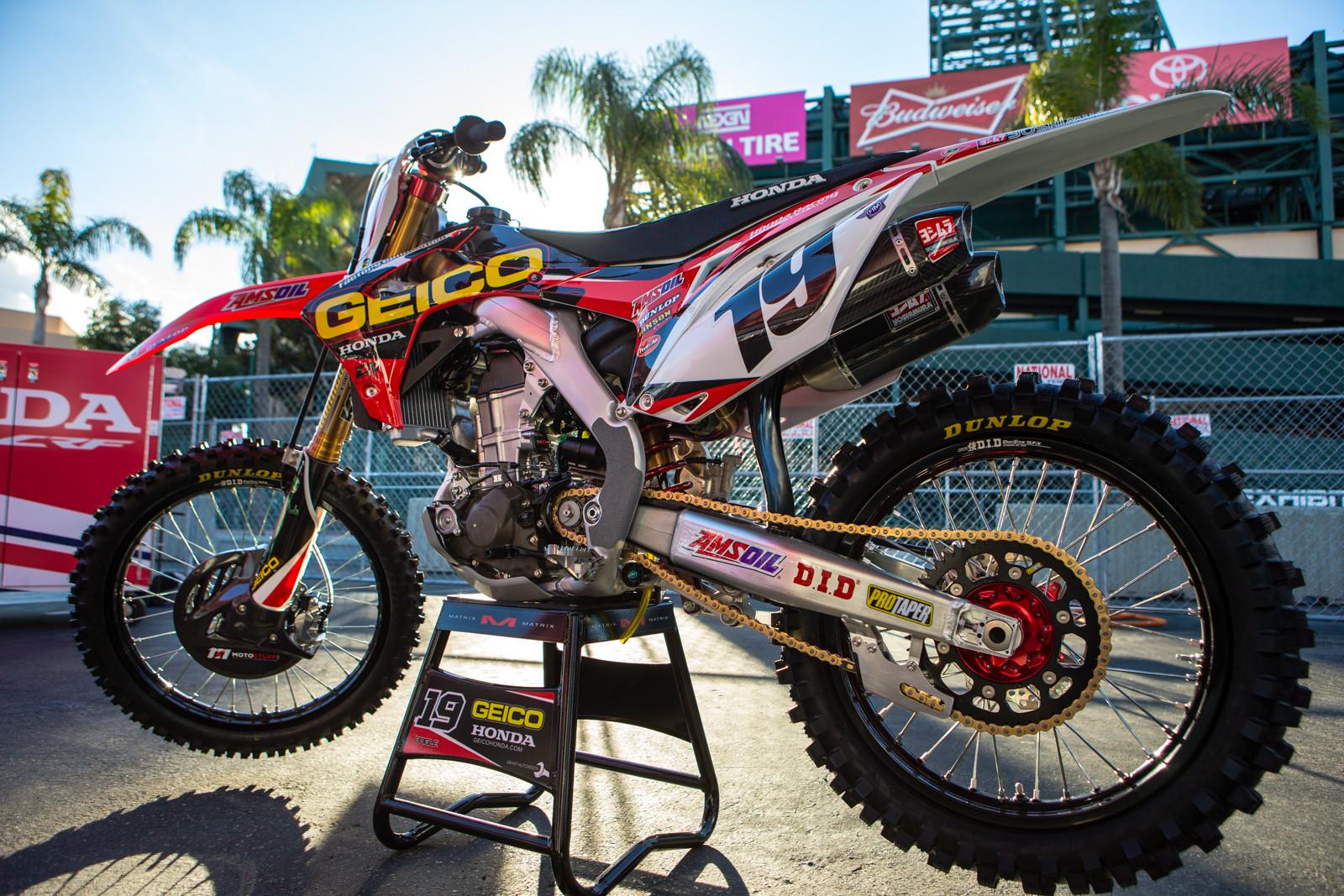 Justin Bogle - 2016 Bikes of Supercross - Motocross Pictures - Vital MX