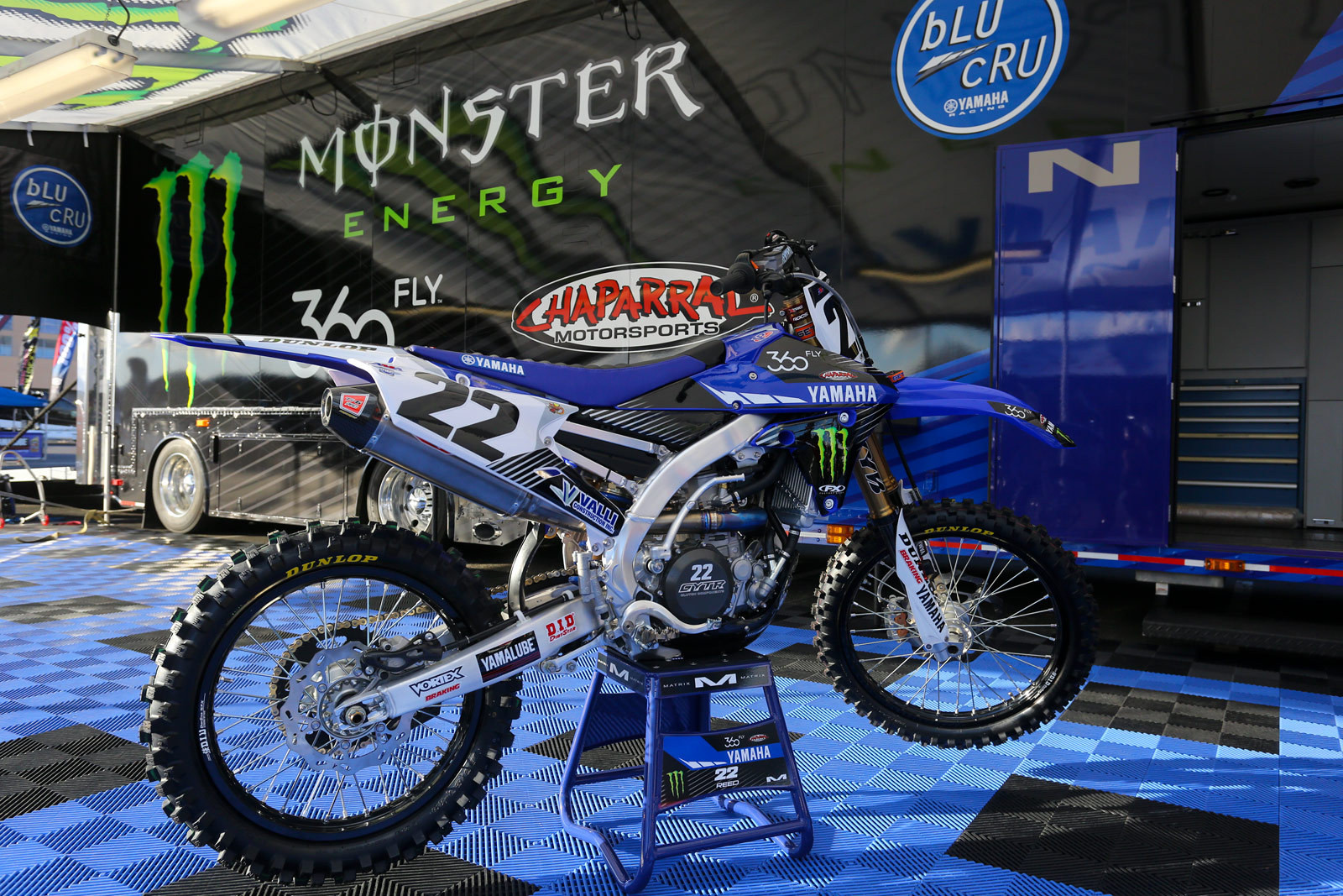 Chad Reed - 2016 Bikes of Supercross - Motocross Pictures - Vital MX