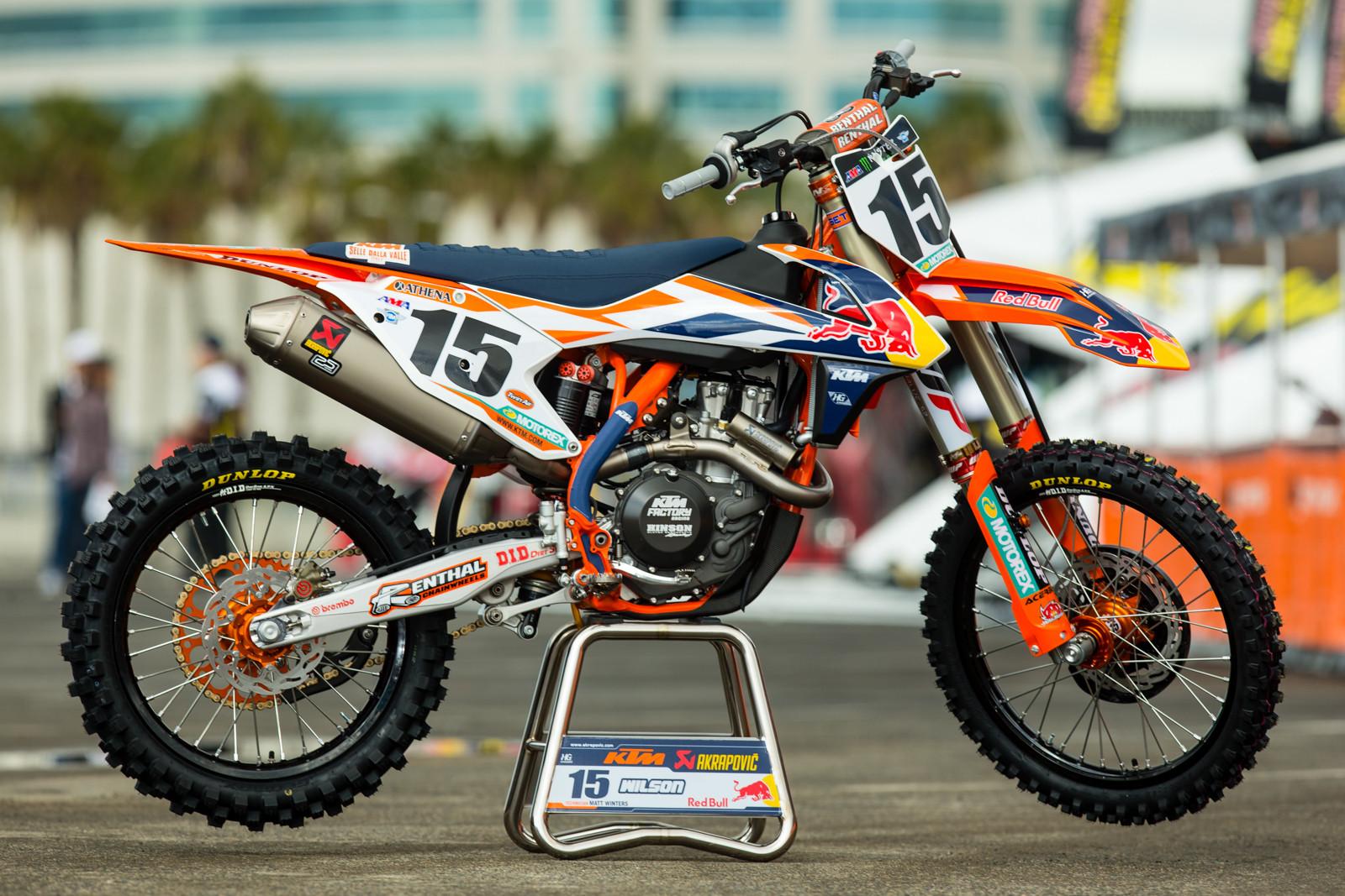 Dean Wilson - 2016 Bikes of Supercross - Motocross Pictures - Vital MX