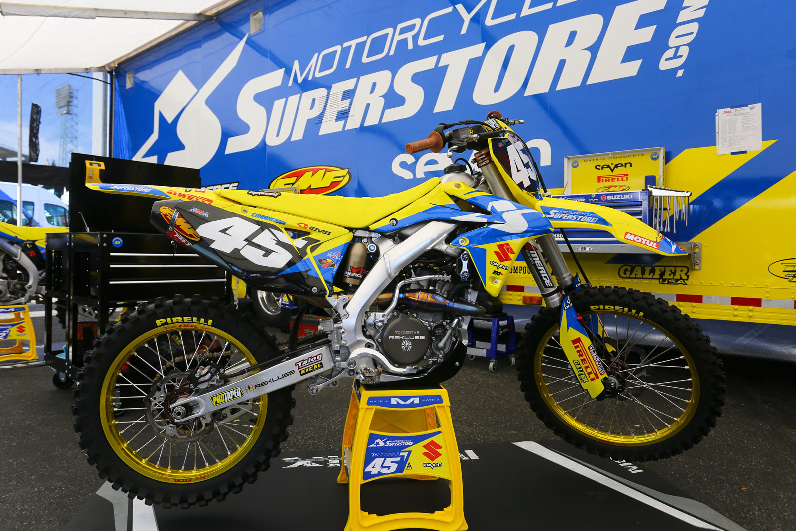 Kyle Cunningham - 2016 Bikes of Supercross - Motocross Pictures - Vital MX