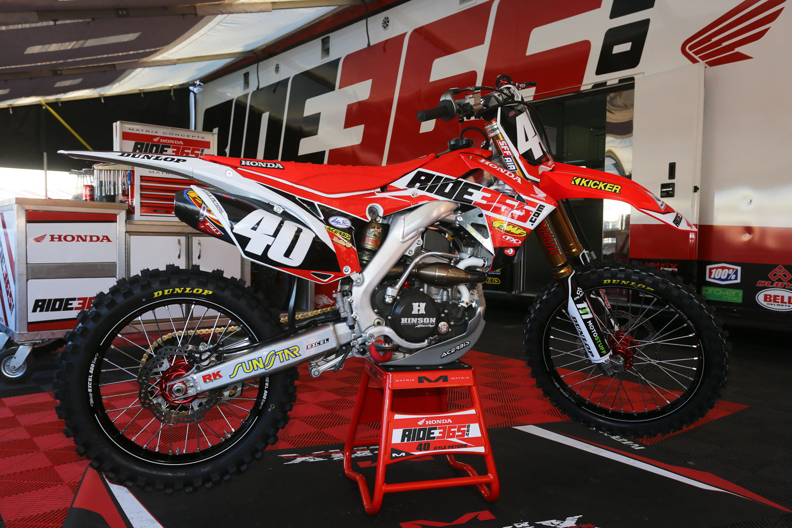 Kyle Peters - 2016 Bikes of Supercross - Motocross Pictures - Vital MX