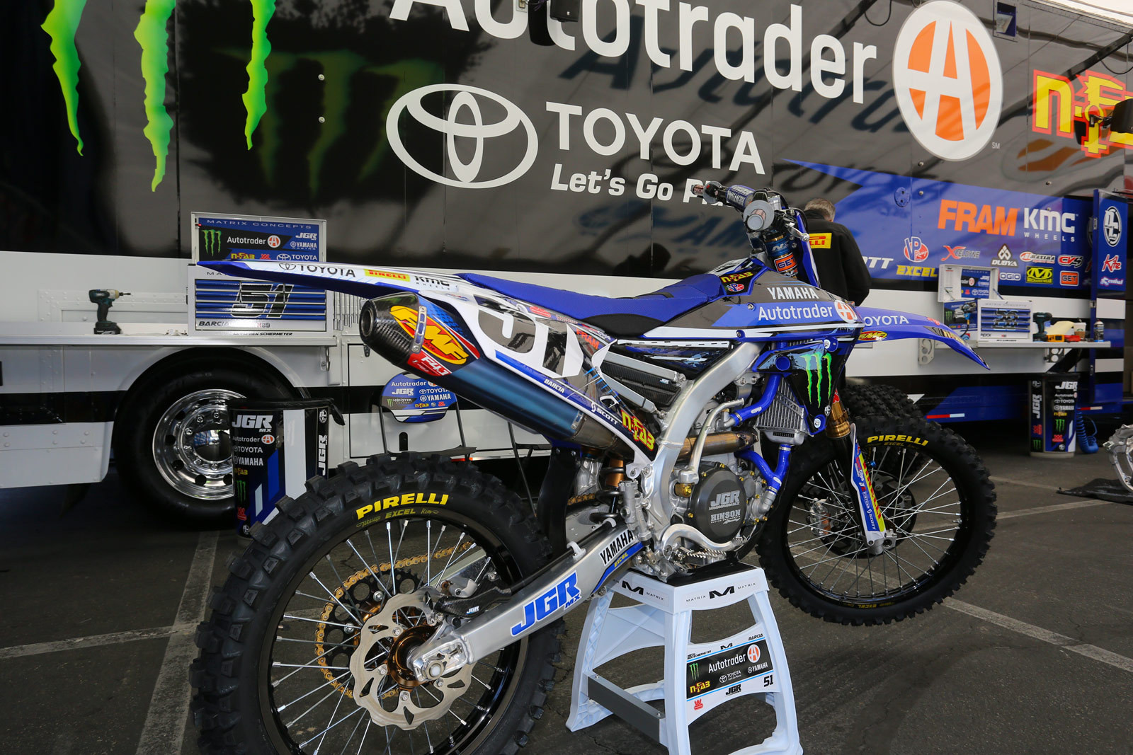 Justin Barcia - 2016 Bikes of Supercross - Motocross Pictures - Vital MX
