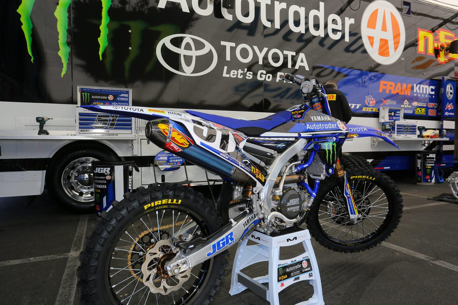 Justin Barcia - 2016 Bikes of Supercross - Motocross Pictures - Vital MX