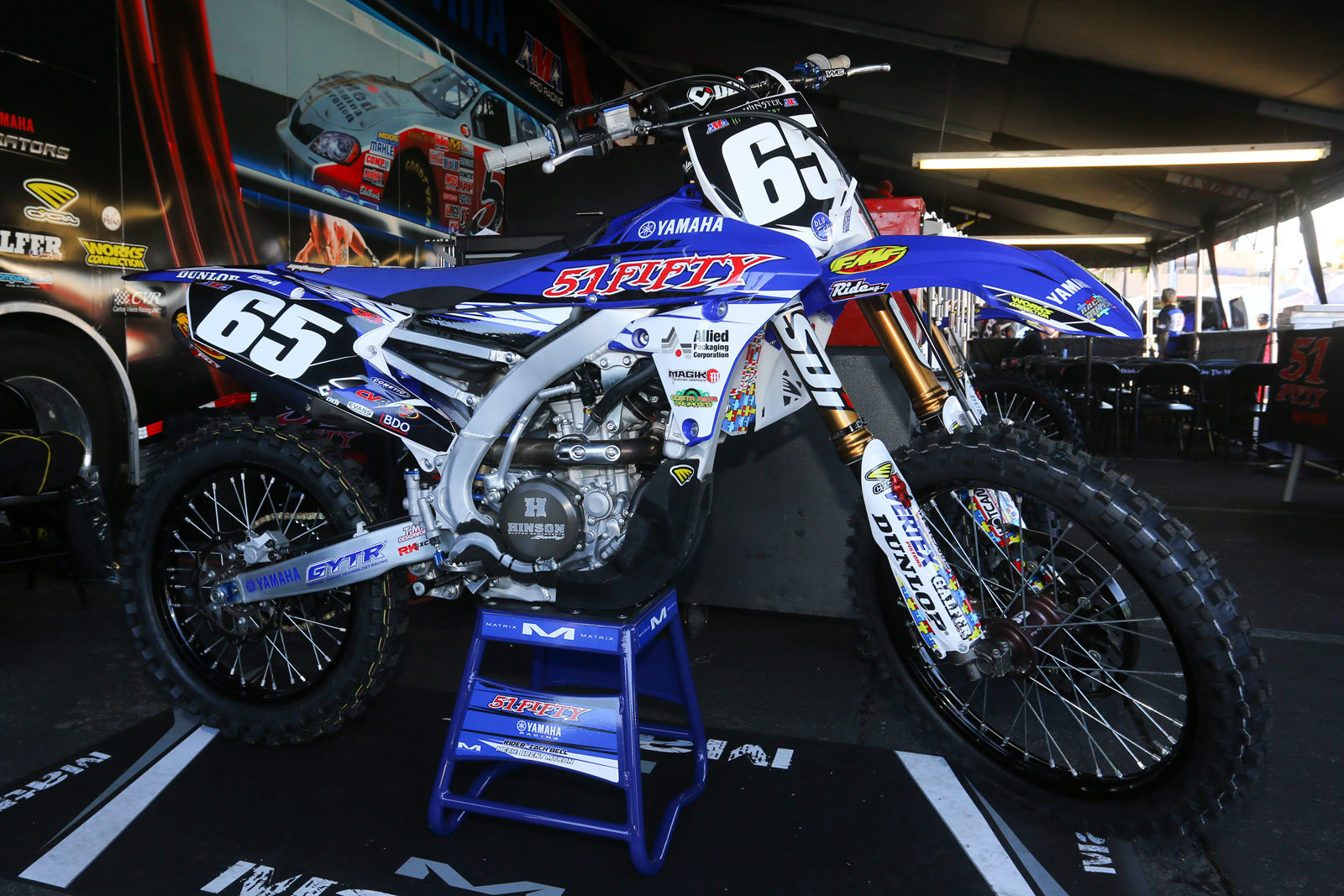 Zach Bell - 2016 Bikes of Supercross - Motocross Pictures - Vital MX