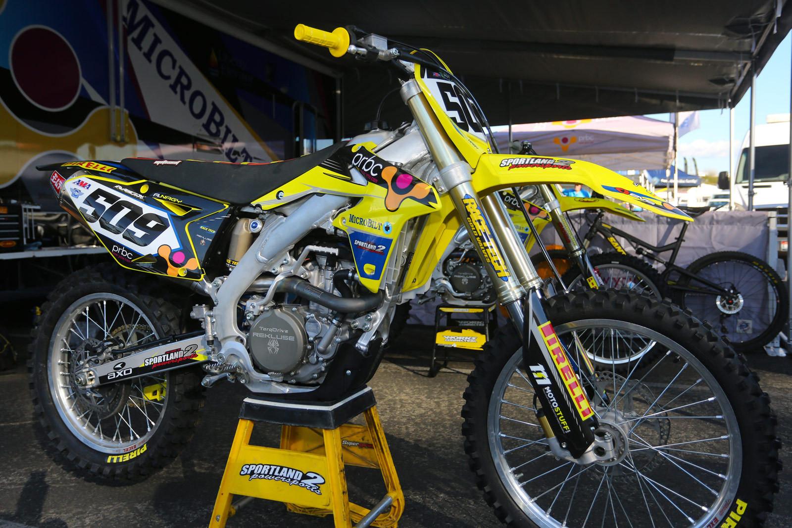 Alex Nagy - 2016 Bikes of Supercross - Motocross Pictures - Vital MX