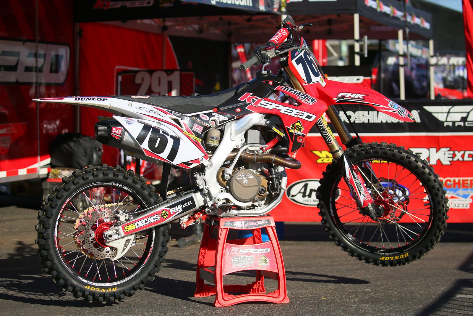 Cade Clason - 2016 Bikes of Supercross - Motocross Pictures - Vital MX