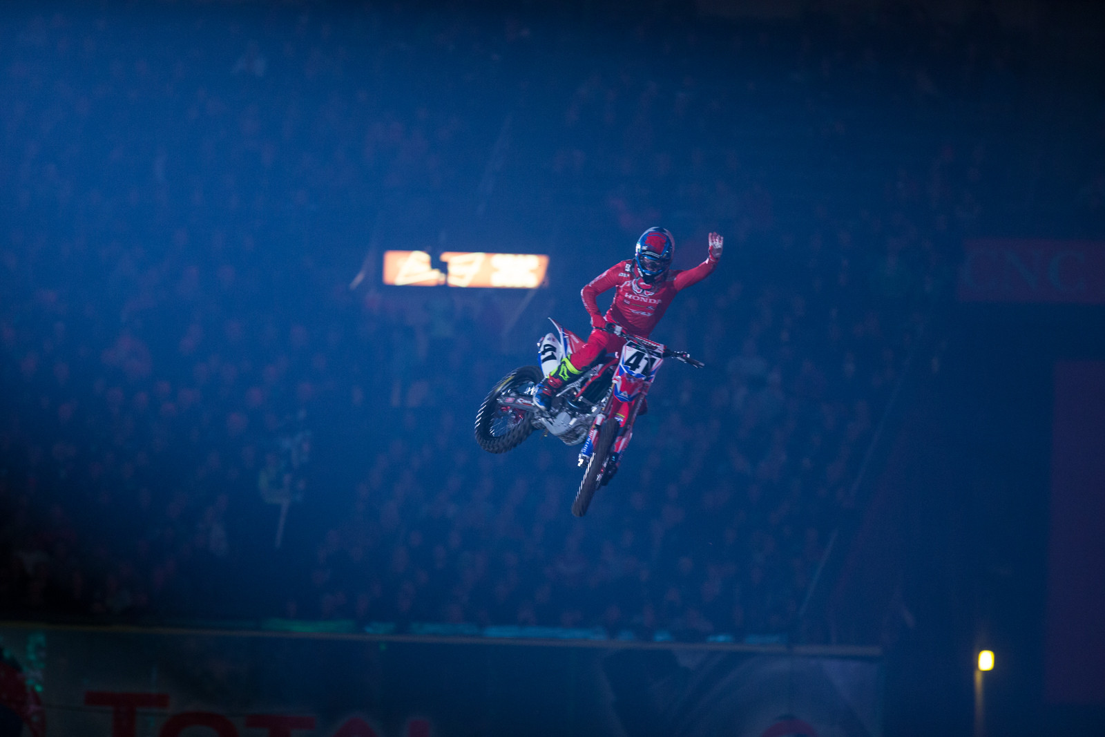 Trey Canard - Vital MX Pit Bits: Anaheim 1 - Motocross Pictures - Vital MX