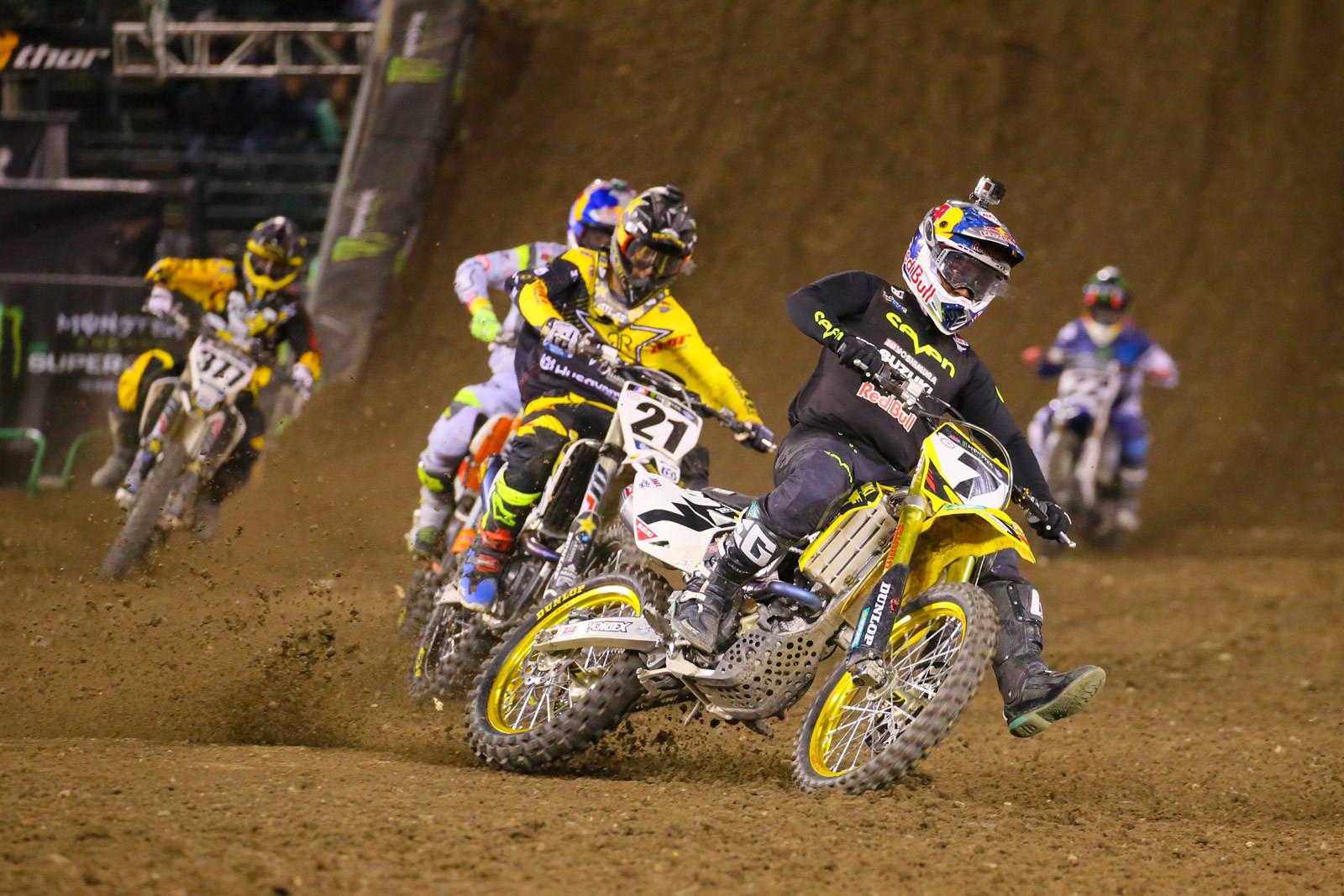 James Stewart - Photo Blast: Anaheim 1 - Motocross Pictures - Vital MX