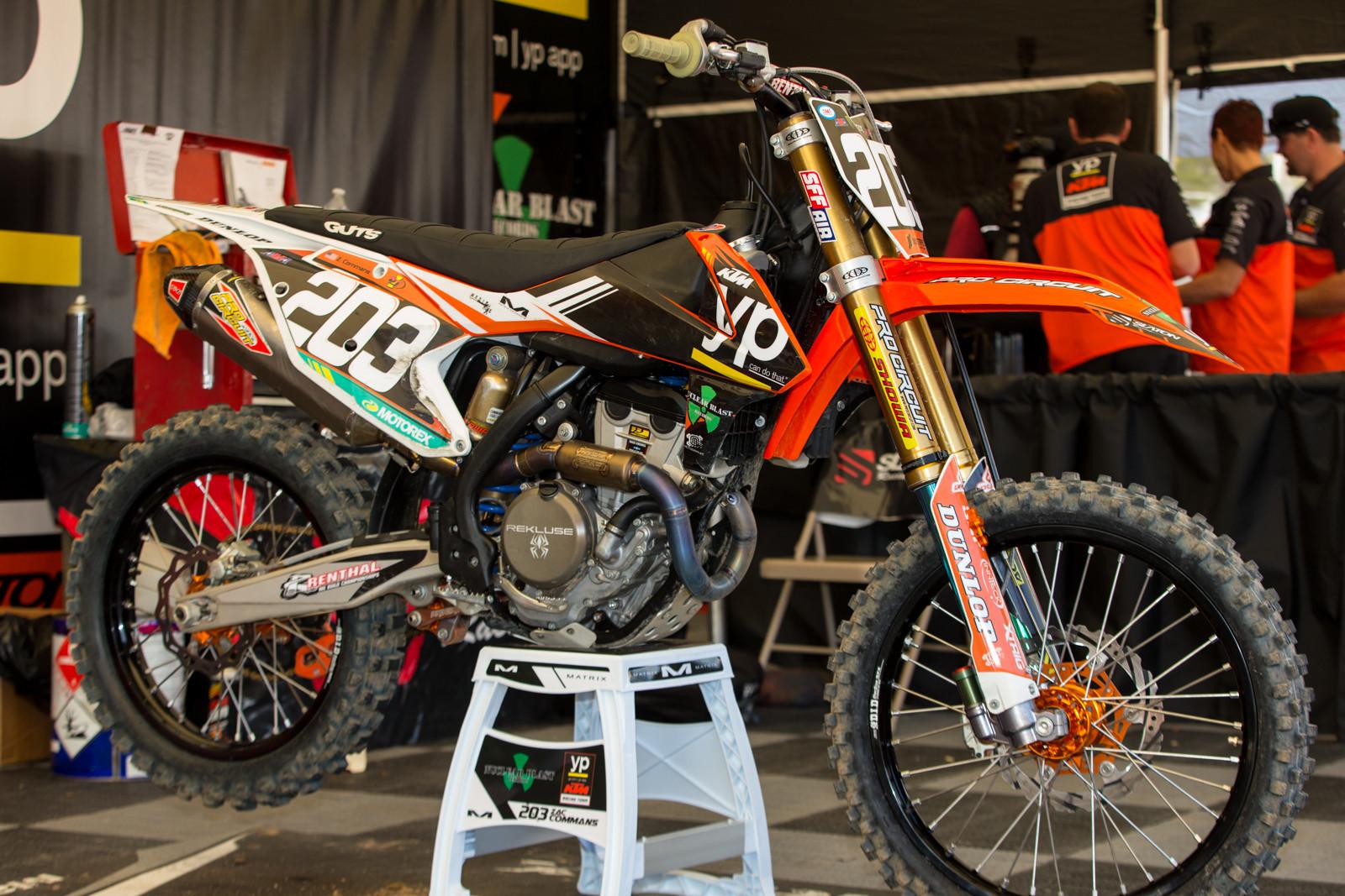 Zac Commans - Vital MX Pit Bits: San Diego 1 - Motocross Pictures - Vital MX
