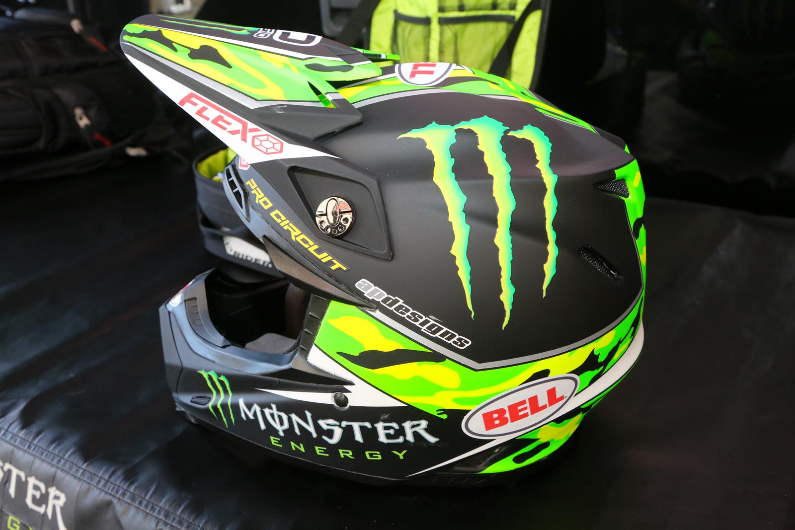 Bell Racing Helmets >> Custom Bell - Vital MX Pit Bits: San Diego 1 - Motocross ...