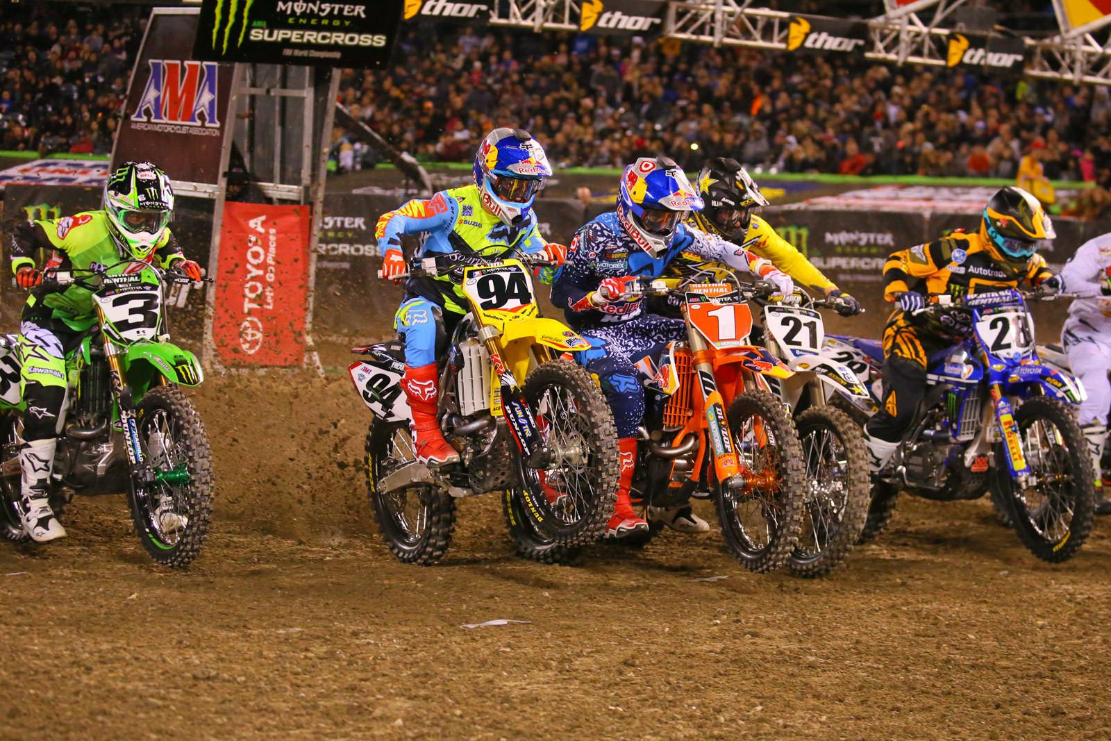 450 Heat Two Start - Photo Blast: Anaheim 2 - Motocross Pictures - Vital MX