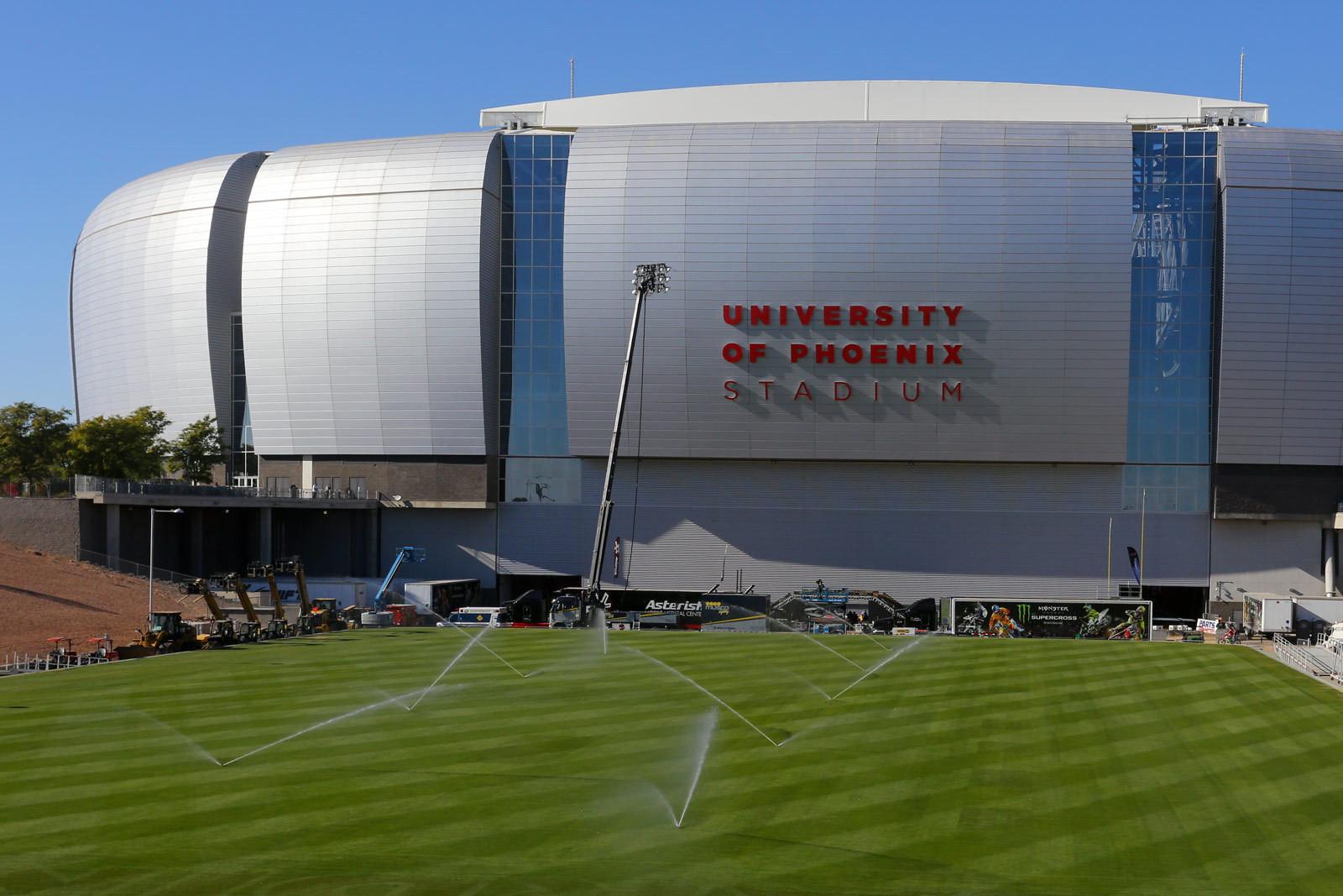 University of Phoenix Stadium - Vital MX Pit Bits: Glendale - Motocross Pictures - Vital MX