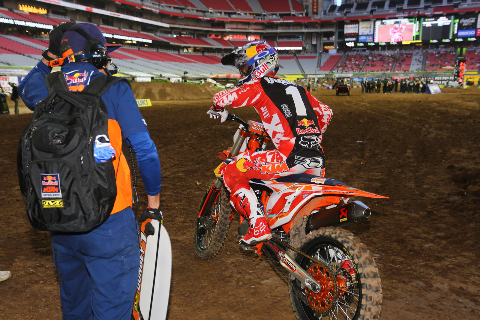 Ryan Dungey - Vital MX Pit Bits: Glendale - Motocross Pictures - Vital MX
