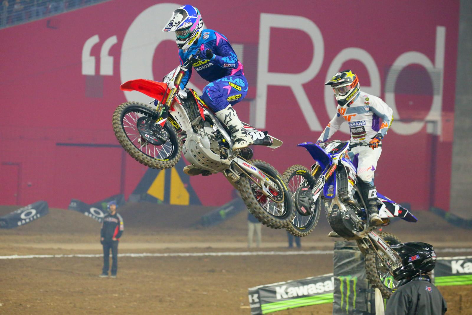 Christian Craig and Cooper Webb - Photo Blast: Glendale - Motocross Pictures - Vital MX
