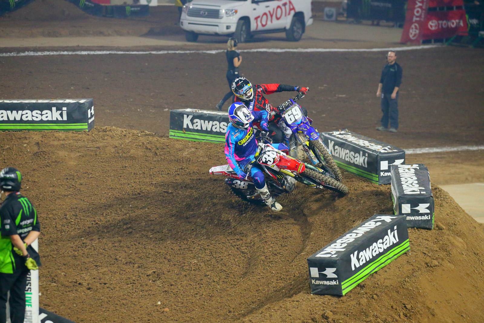 Christian Craig and Colt Nichols - Photo Blast: Glendale - Motocross Pictures - Vital MX