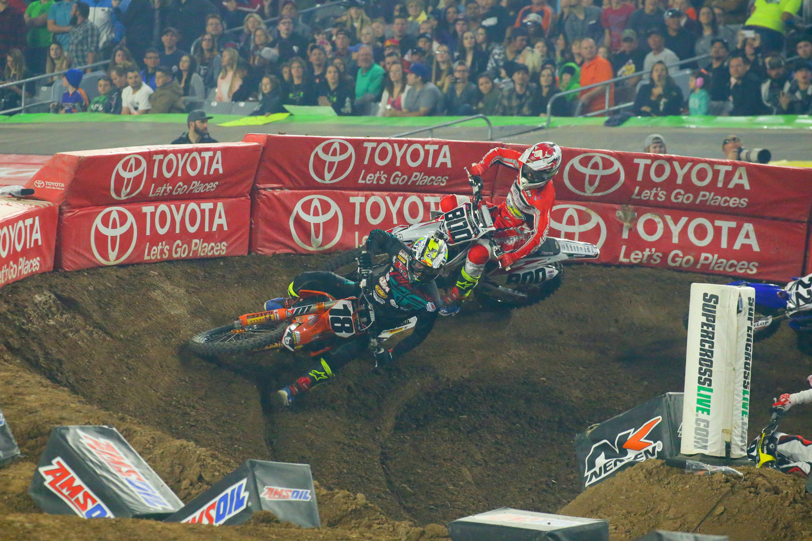Davi Millsaps and Mike Alessi - Photo Blast: Glendale - Motocross Pictures - Vital MX