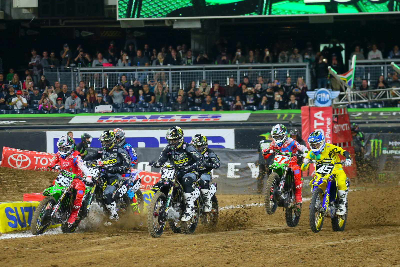 250 Heat One Start - Photo Blast: San Diego 2 - Motocross Pictures - Vital MX