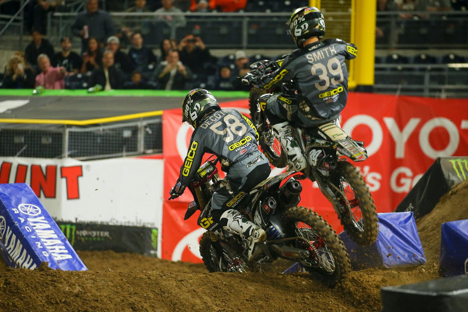 Jimmy DeCotis and Jordon Smith - Photo Blast: San Diego 2 - Motocross Pictures - Vital MX