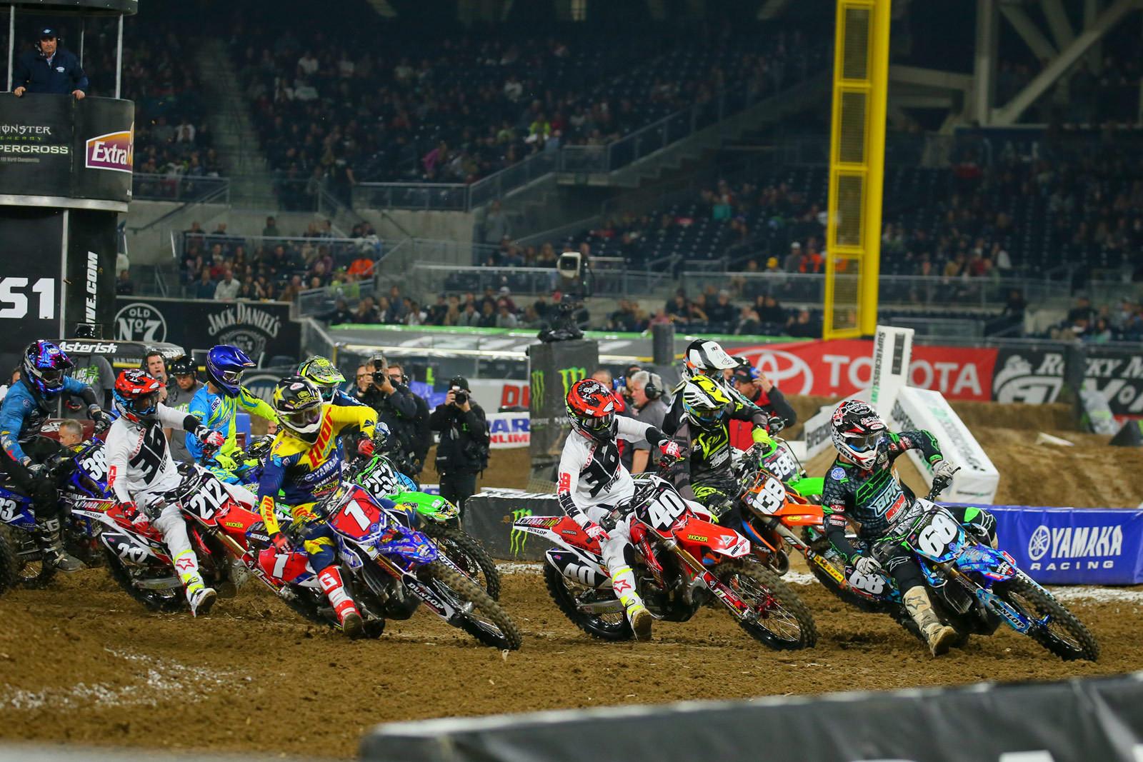 250 Heat Two Start - Photo Blast: San Diego 2 - Motocross Pictures - Vital MX