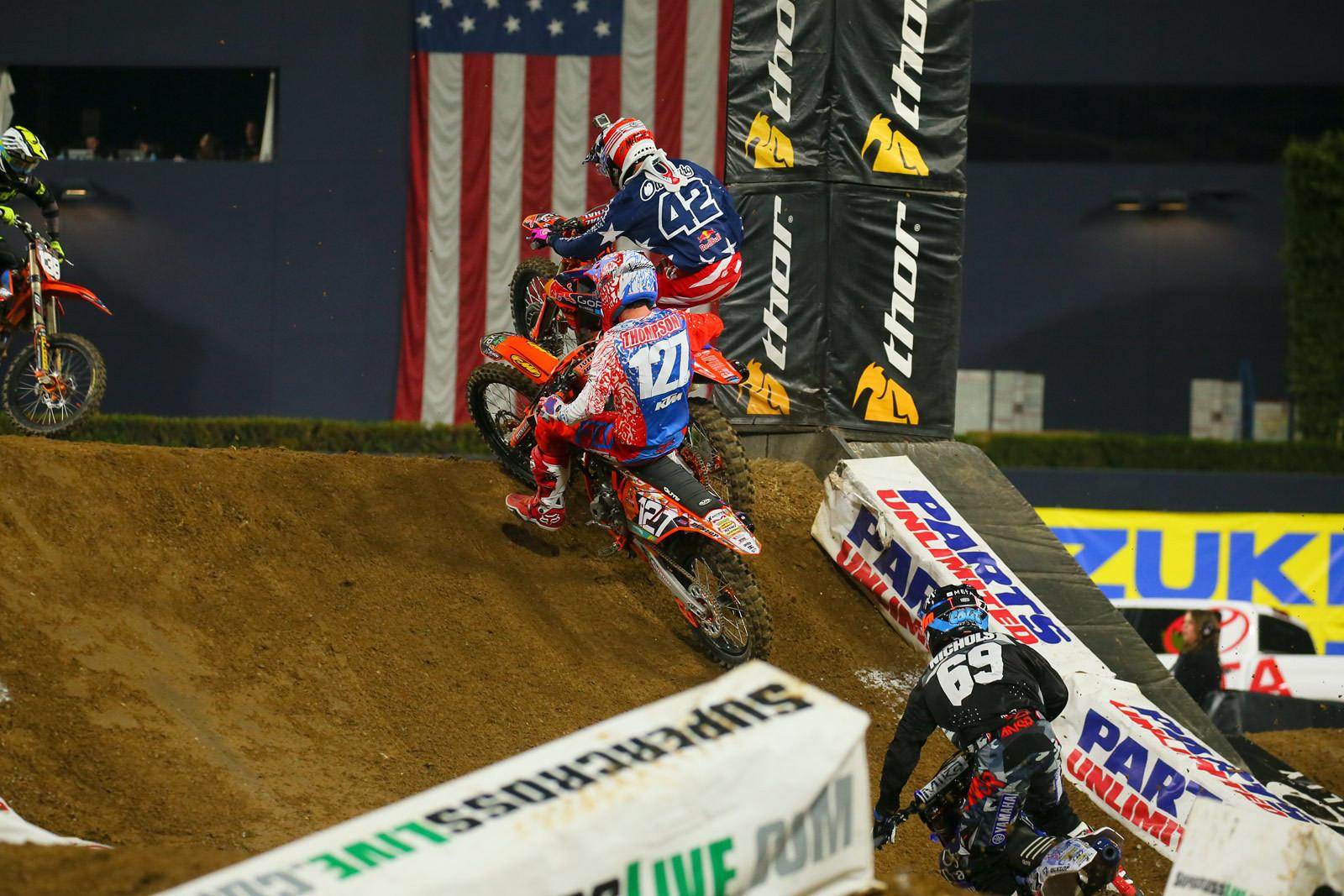 Mitchell Oldenburg and Cole Thompson - Photo Blast: San Diego 2 - Motocross Pictures - Vital MX