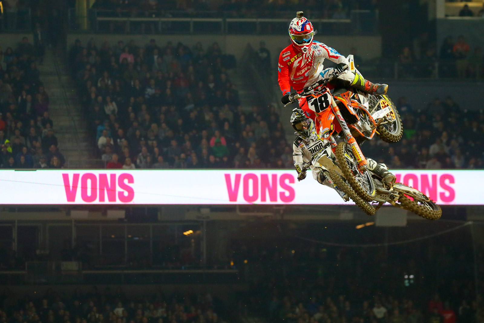 Davi Millsaps and Jason Anderson - Photo Blast: San Diego 2 - Motocross Pictures - Vital MX