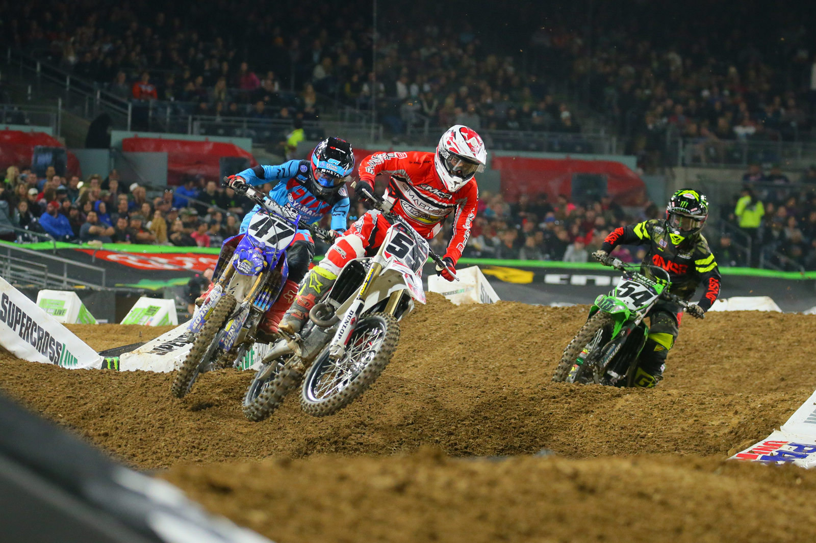 Vince Friese, Tommy Hahn, and Wil Hahn - Photo Blast: San Diego 2 - Motocross Pictures - Vital MX