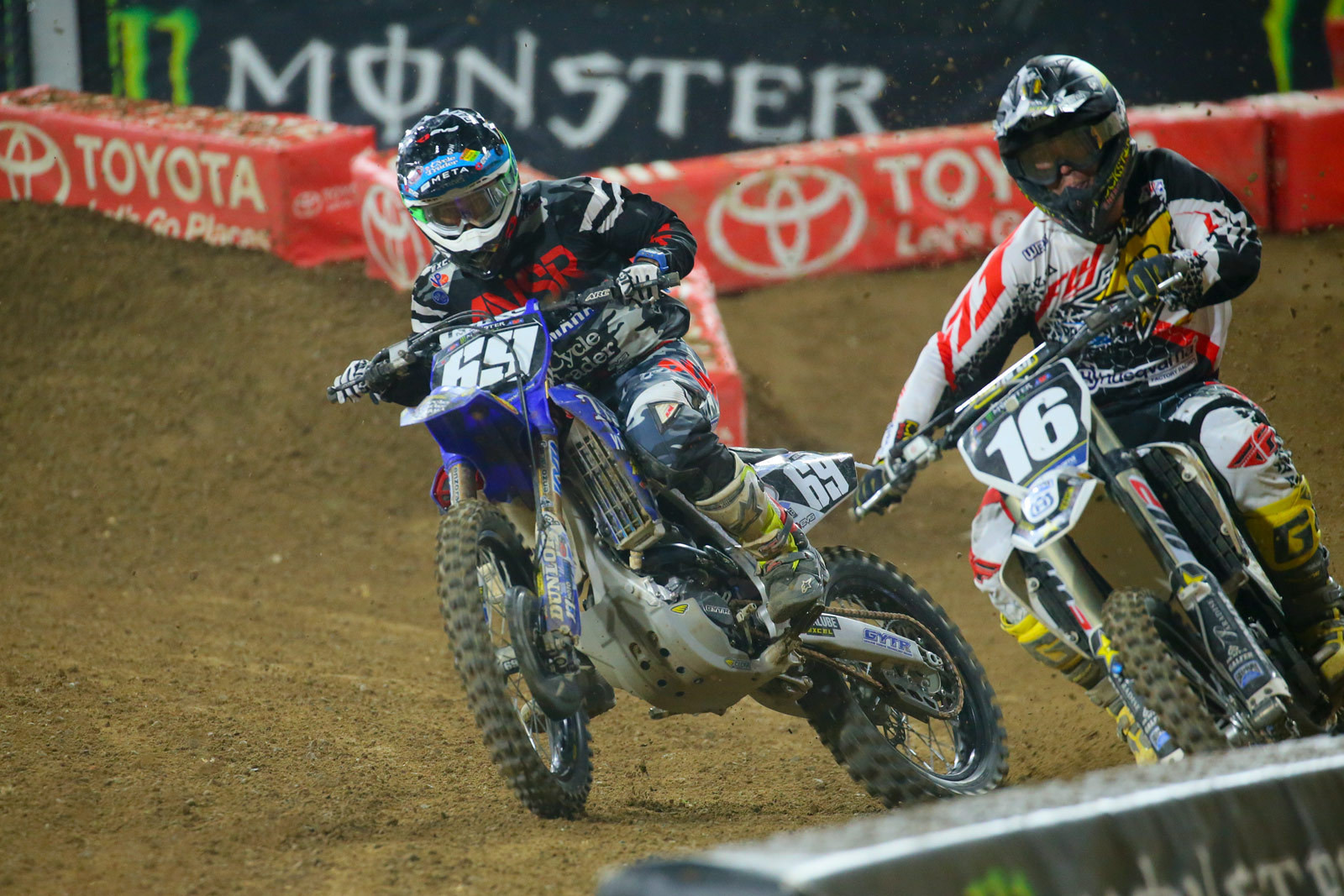 Colt Nichols and Zach Osborne - Photo Blast: San Diego 2 - Motocross Pictures - Vital MX