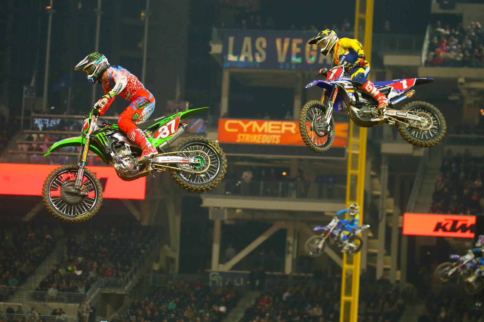 Joey Savatgy and Cooper Webb - Photo Blast: San Diego 2 - Motocross Pictures - Vital MX