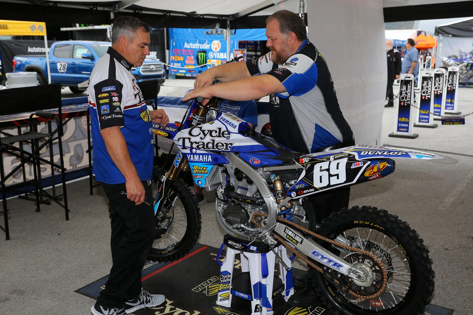Scott Rabon and Dan Rambert - Vital MX Pit Bits: Arlington - Motocross Pictures - Vital MX