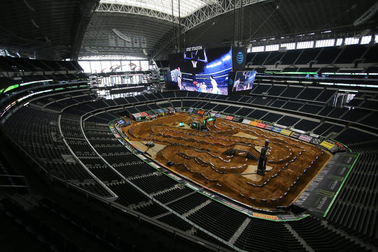 AT&T Stadium - Vital MX Pit Bits: Arlington - Motocross Pictures - Vital MX