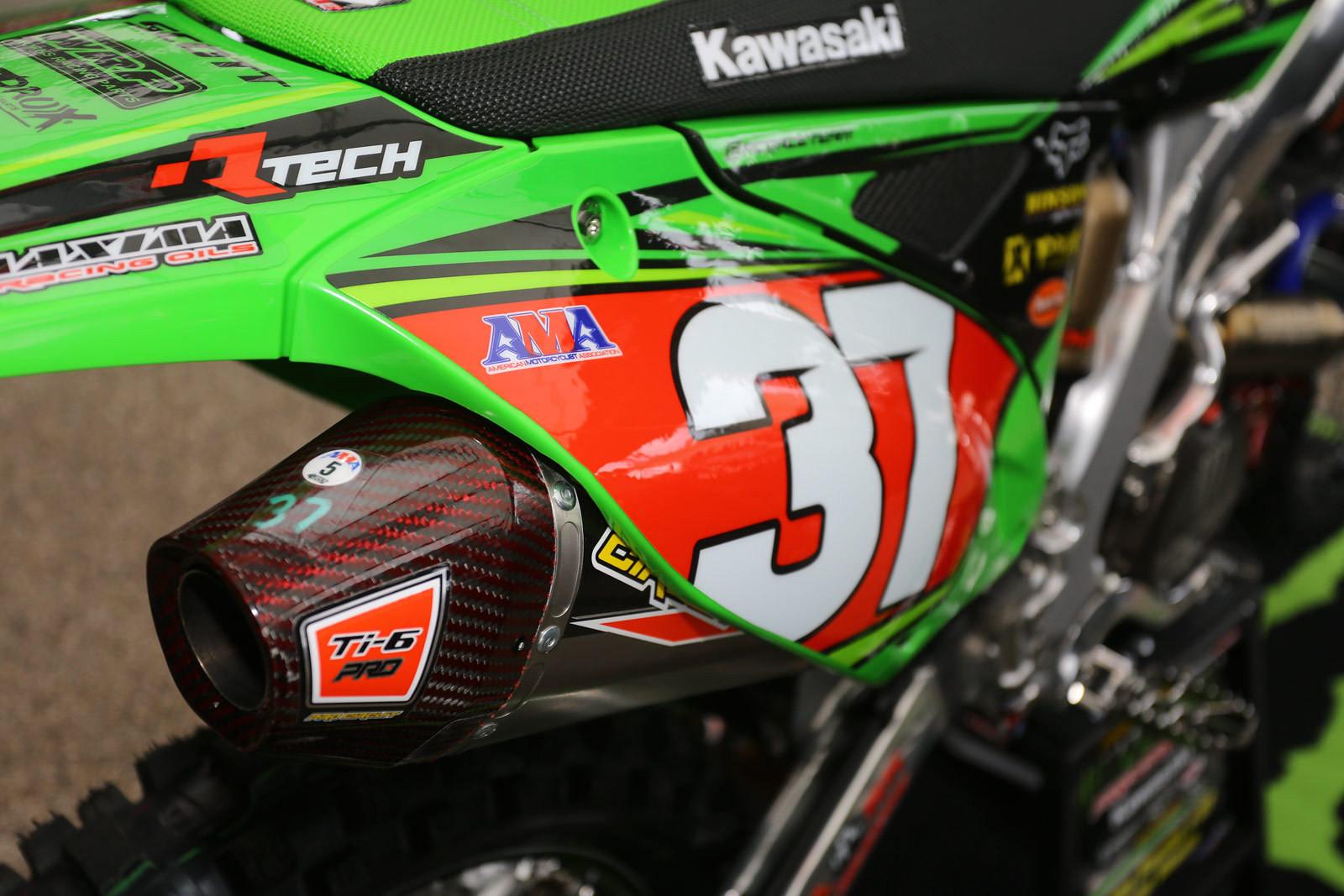 Joey Savatgy - Vital MX Pit Bits: Arlington - Motocross Pictures - Vital MX