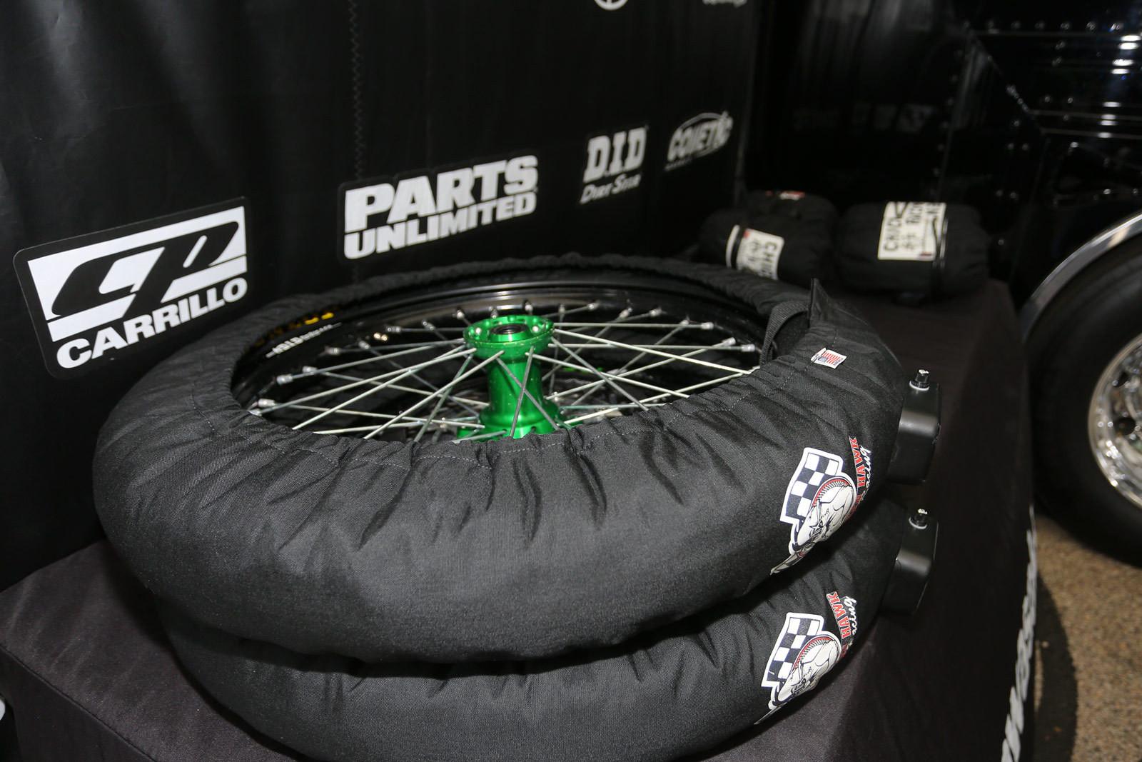 Tire Warmers - Vital MX Pit Bits: Arlington - Motocross Pictures - Vital MX