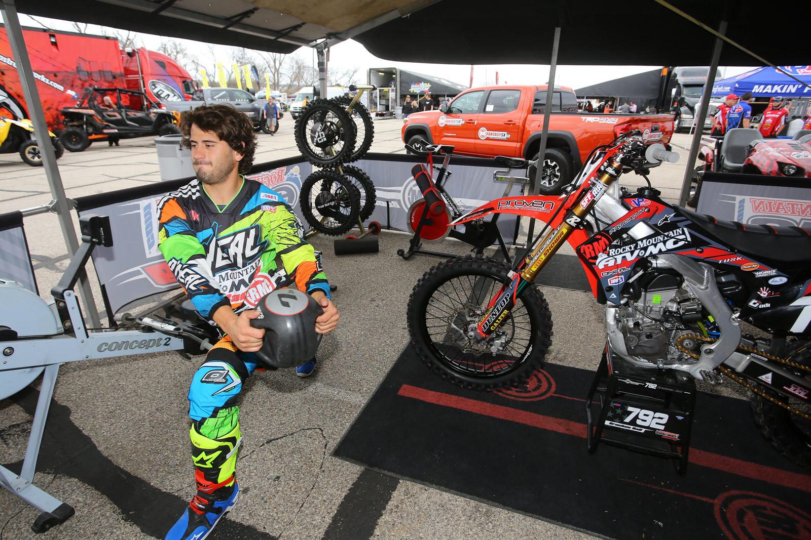 Bracken Hall - Vital MX Pit Bits: Arlington - Motocross Pictures - Vital MX